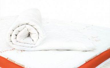 Protectie saltea Green Future WOOL, 160 x 200 cm, umplutura lana merinos