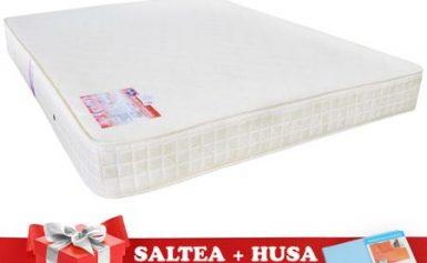 Review: Set Saltea SuperOrtopedica Saltex 160×200 cm + Husa cu elastic