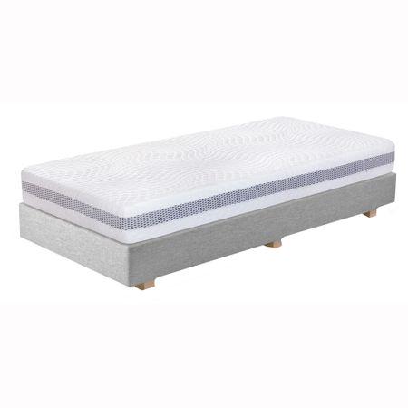 Saltea TED Sleep Genesis Ergo Disc, superortopedica, ergonomica, 7 zone de comfort, efect zero gravity, husa antialergica, 2 fete, husa cu fermoar detasabila, 180x200x20cm